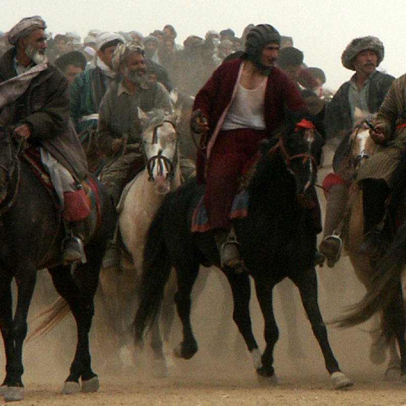 Photo Essay: Buzkashi