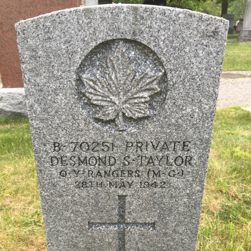 Private D.S. Taylor